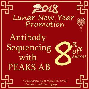 PEAKS AB 2018 – Lunar New Year